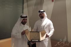 تكريم المجلس لمدير كتارا
